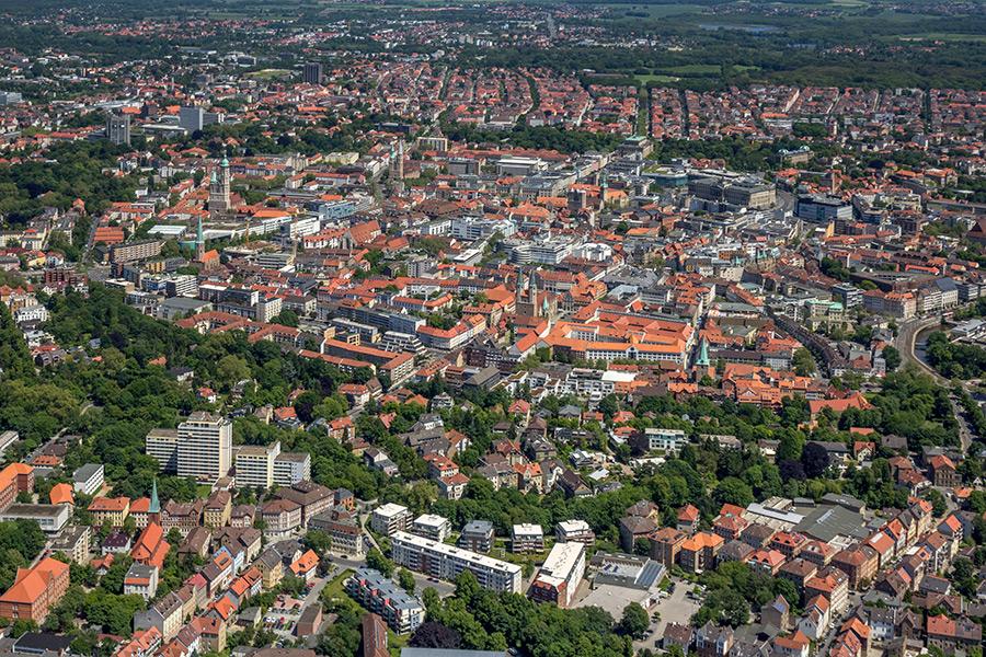 Luftbild Braunschweig