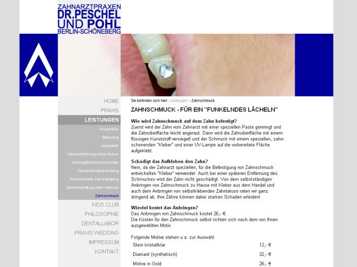 Zahnarztpraxis Peschel und Pohl, Berlin