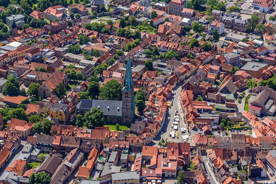 Luftbild Quedlinburg | Neustadt