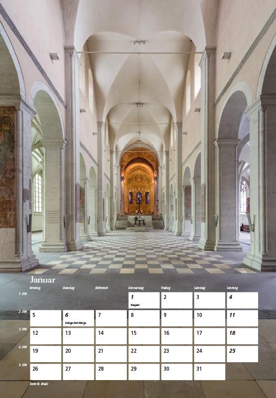 Dom St. Blasii - Kalender Braunschweig 2015 | Sándor Kotyrba