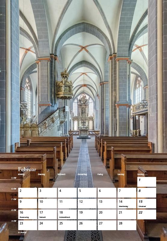 St. Martini-Kirche - Kalender Braunschweig 2015 | Sándor Kotyrba