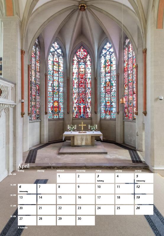St. Katharinen-Kirche - Kalender Braunschweig 2015 | Sándor Kotyrba