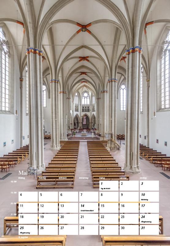 St. Aegidien-Kirche - Kalender Braunschweig 2015 | Sándor Kotyrba