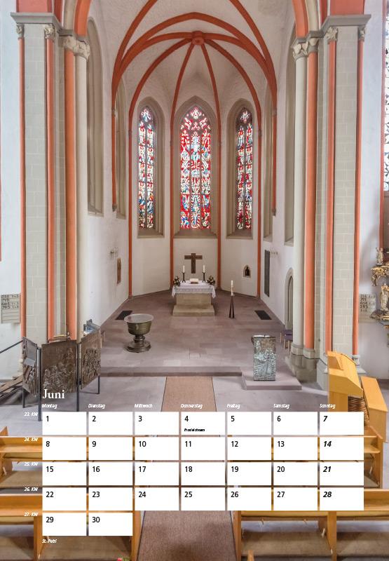 St. Petri-Kirche - Kalender Braunschweig 2015 | Sándor Kotyrba