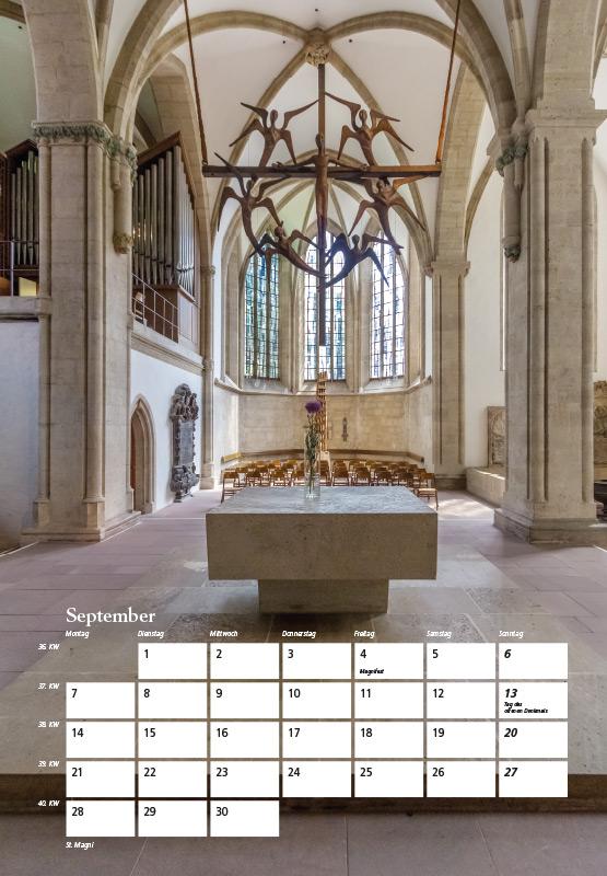 St. Magni-Kirche - Kalender Braunschweig 2015 | Sándor Kotyrba