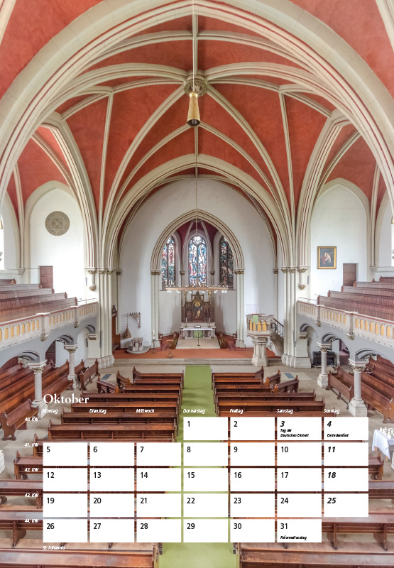 St. Johannis-Kirche - Kalender Braunschweig 2015 | Sándor Kotyrba