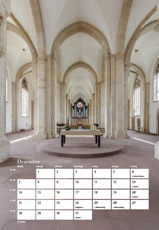 St. Andreas-Kirche - Kalender Braunschweig 2015 | Sándor Kotyrba