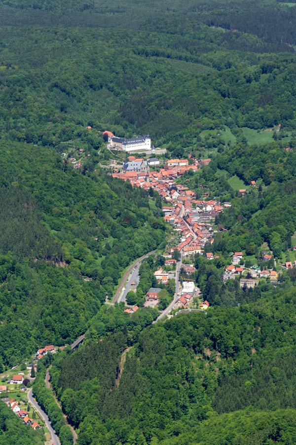 Luftbild Stolberg Harz #8783