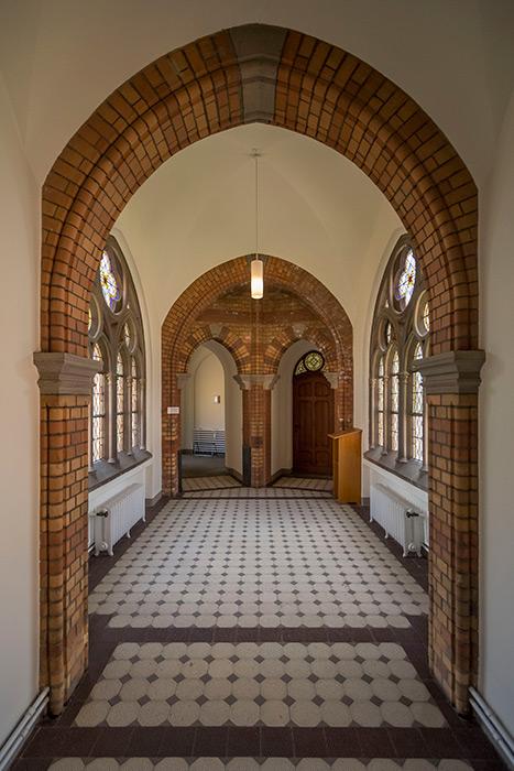 Braunschweig, Kapelle Hauptfriedhof