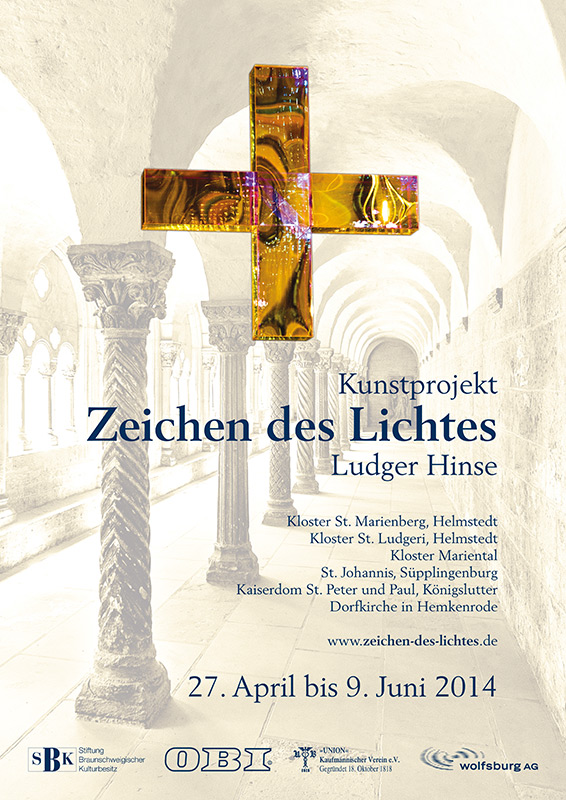 Plakat: Zeichen des Lichtes