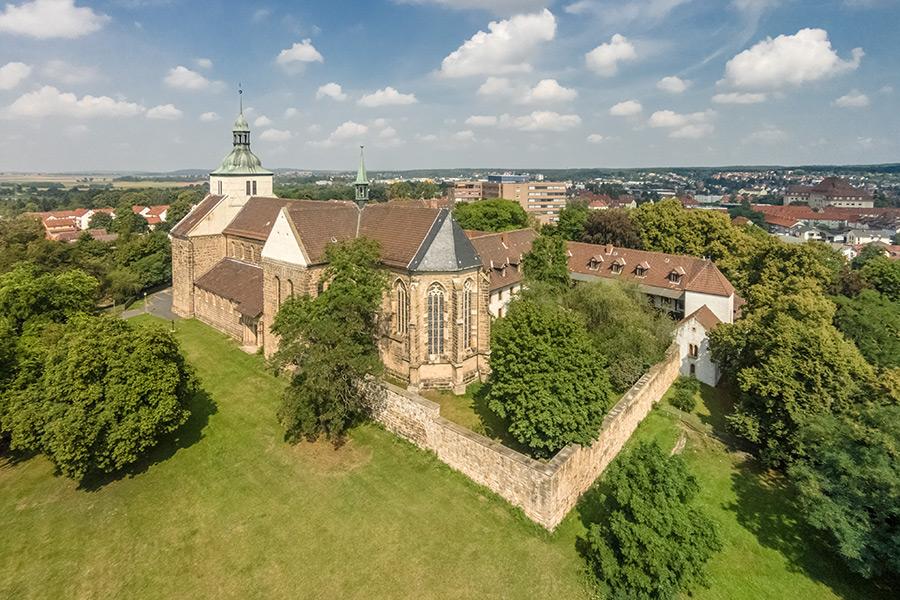 Luftbild Helmstedt | Kloster St. Marienberg