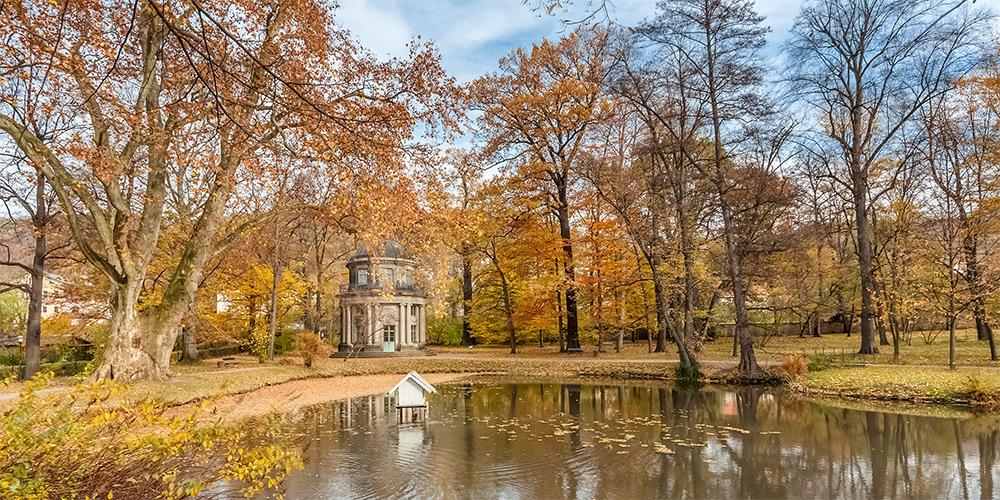 Kotyrba Architekturfotografie Dresden | Englischer Garten. Schloss Pillnitz