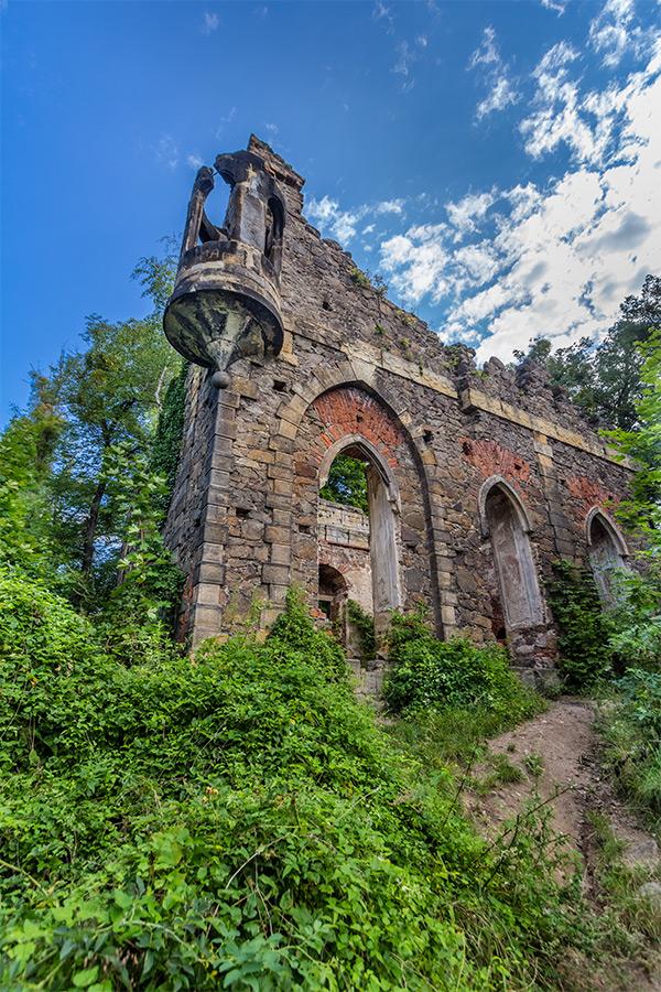 Kotyrba Architekturfotografie Dresden   Künstliche Ruine Pillnitz