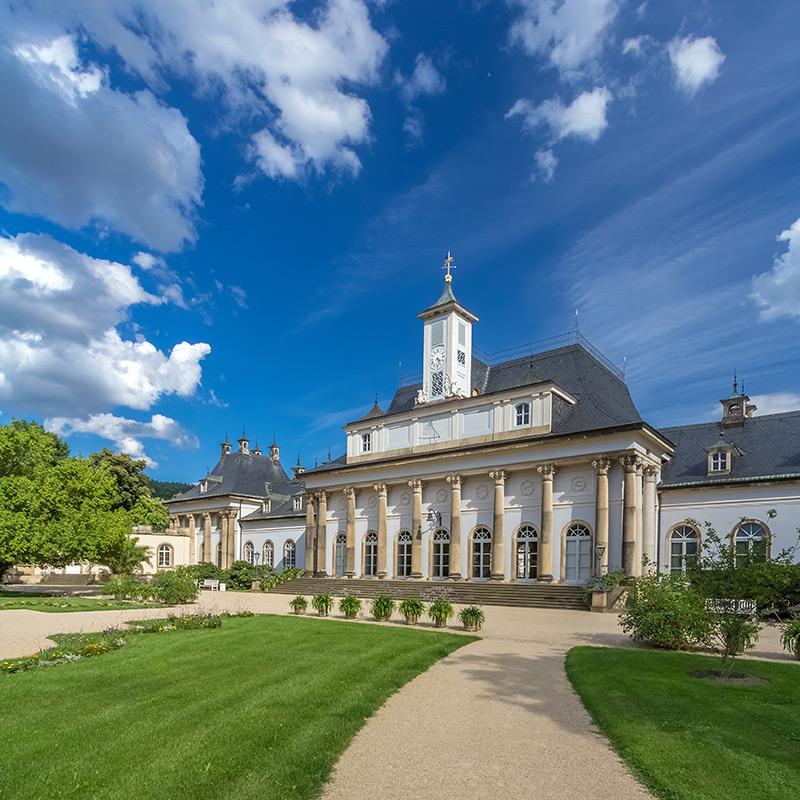 kotyrba architekturfotografie dresden   Schloss Pillnitz, Neues Palais