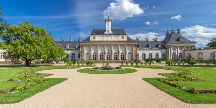 kotyrba architekturfotografie dresden | Schloss Pillnitz, Neues Palais
