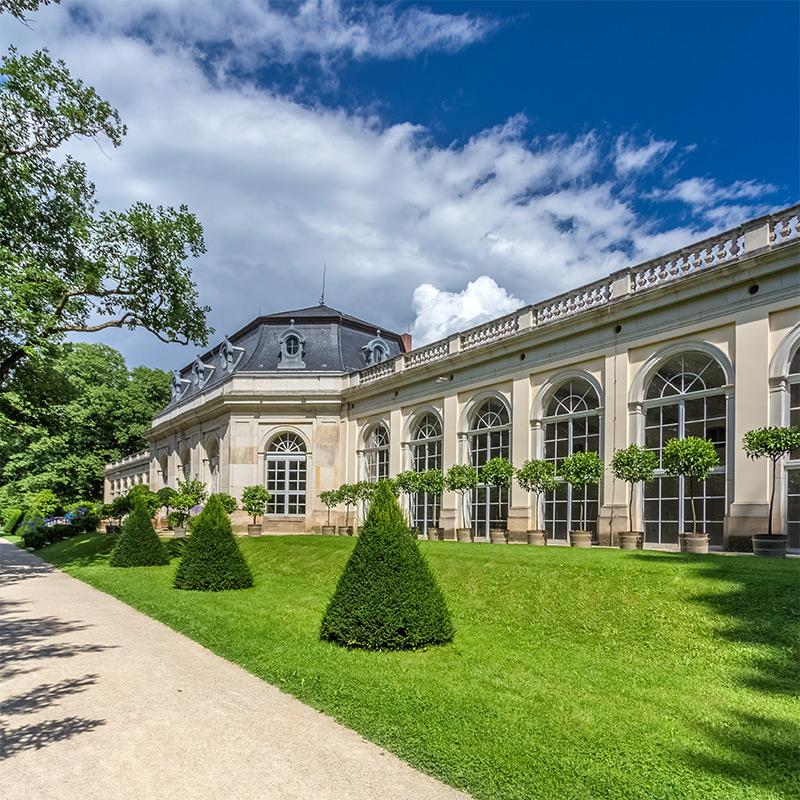 Kotyrba Architekturfotografie Dresden   Schloss Pillnitz, Orangerie (Ringrennhaus)