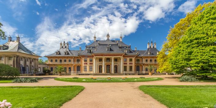 Kotyrba Architekturfotografie Dresden | Schloss Pillnitz, Wasserpalais