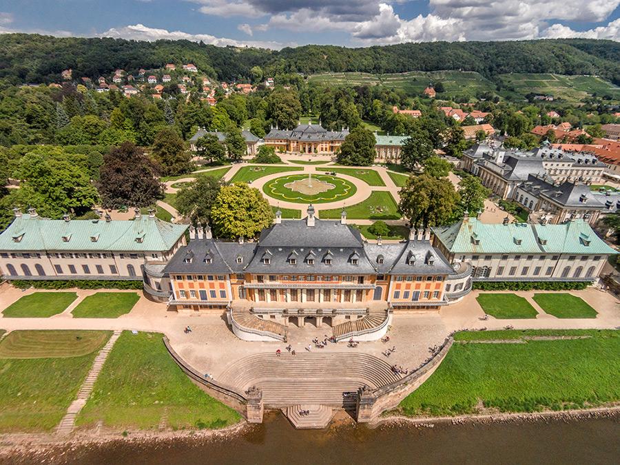 Kotyrba Architekturfotografie Dresden   Schloss Pillnitz, Wasserpalais