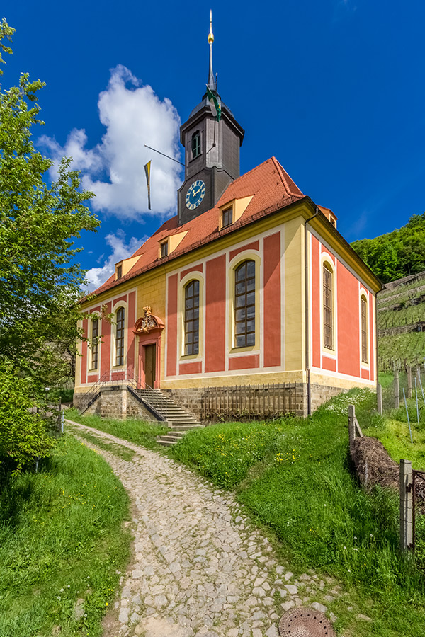 Kotyrba Architekturfotografie Dresden   Weinbergkirche Pillnitz