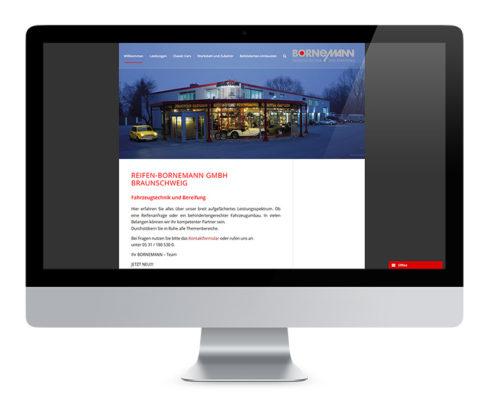 Webdesign Braunschweig, Bornemann Fahrzeugtechnik GmbH