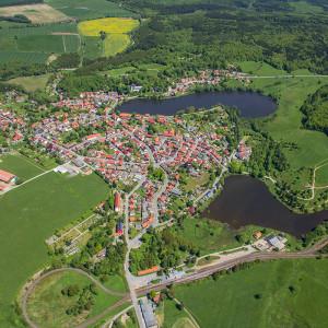 Luftbild Stiege Harz