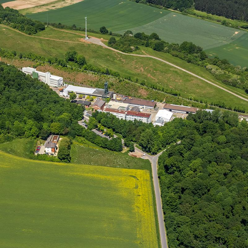 Luftbild Schachtanlage Asse