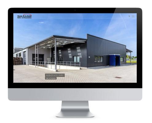 Webdesign Wolfenbüttel, Hallen- und Gwerbebau Giesler und Co. GmbH
