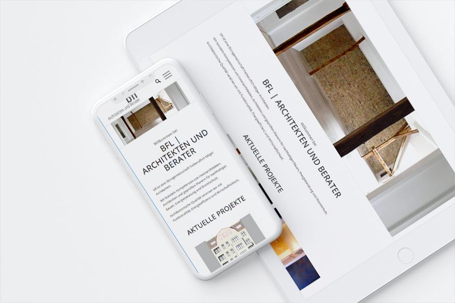 bfl Architekten Berlin | Webdesign kotyrba.net