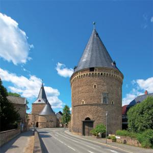 Goslar, Breites Tor und Wallanlagen