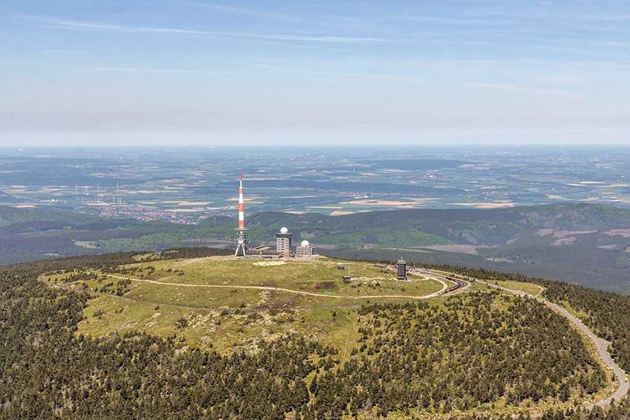 Luftbild Brocken Harz | Hotel (#8943)