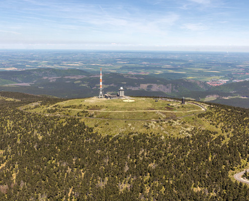 Luftbild Brocken Harz | Sendeanlage (#8944)