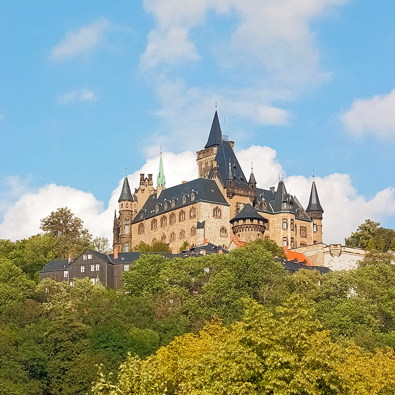 Schloss Wernigerode   Architekturfotografie Sándor Kotyrba