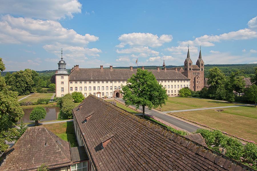 Schloss Corvey | Sándor Kotyrba Architekturfotografie