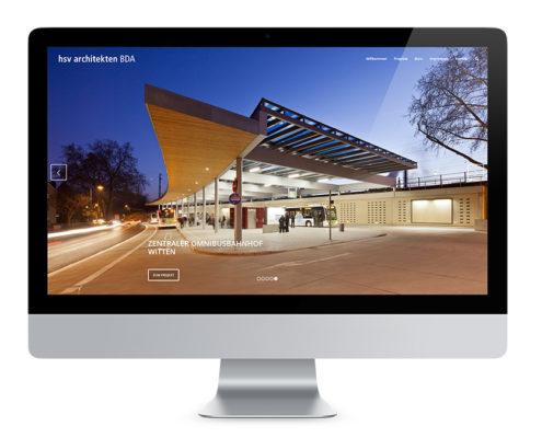 Webdesign Braunschweig, hsv Architekten