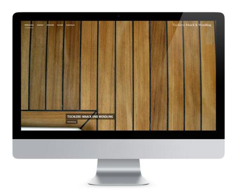 Webdesign Braunschweig, Tischlerei Maack und Wendling
