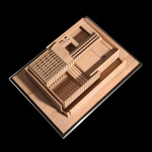 Architekturmodell Danteum | Objektfotografie Sándor Kotyrba