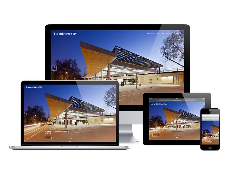 Webdesign und Fotografie für hsv Architekten BDA Braunschweig | kotyrba.net