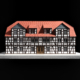 Sándor Kotyrba Architekturfotografie Braunschweig | Architekturmodell Fachwerkhaus