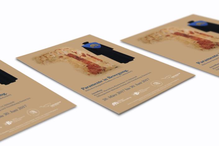 Grafikdesign Helmstedt | Plakat Paramente in Bewegung