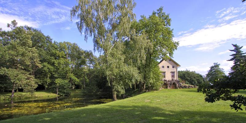 Sándor Kotyrba Fotografie Braunschweig | Architekturfotografie Wörlitzer Anlagen, Italienisches Bauernhaus