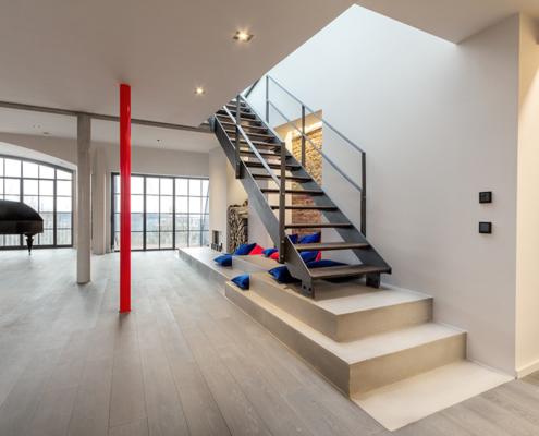 Architekturfotografie Berlin | Dachgeschosswohnung