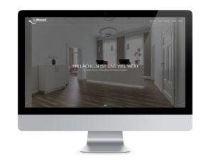 Webdesign | Zahnarzt Dr. Miersch Braunschweig