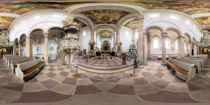 360-Grad-Panoramabild | Kloster Huysburg