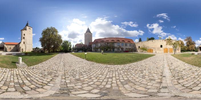 360-Grad-Panoramabild | Schloss Hessen