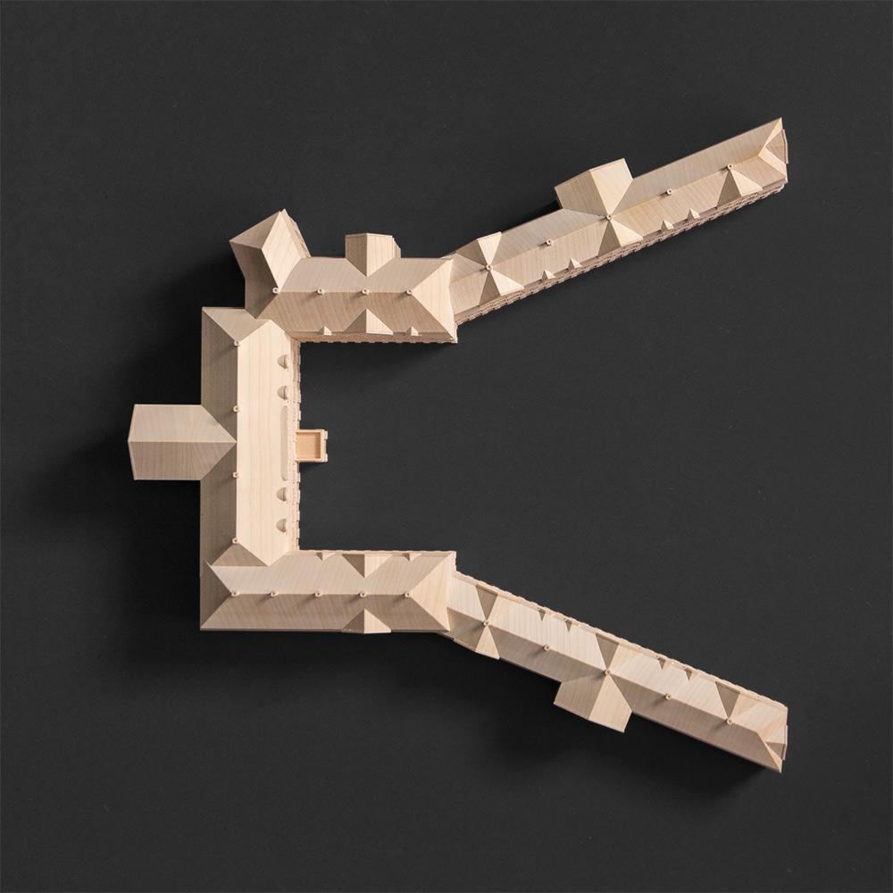 Fotografie Architekturmodell | Grauer Hof Braunschweig