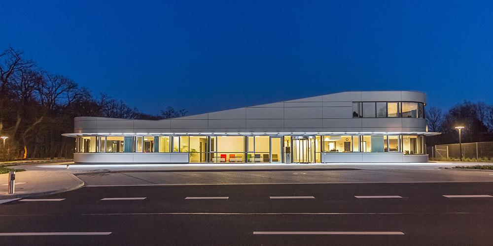 Architekturfotografie Braunschweig | Empfangsgebäude PTB