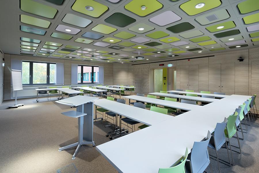 Fotografie Gewerbebau | Seminarräume PTB Braunschweig