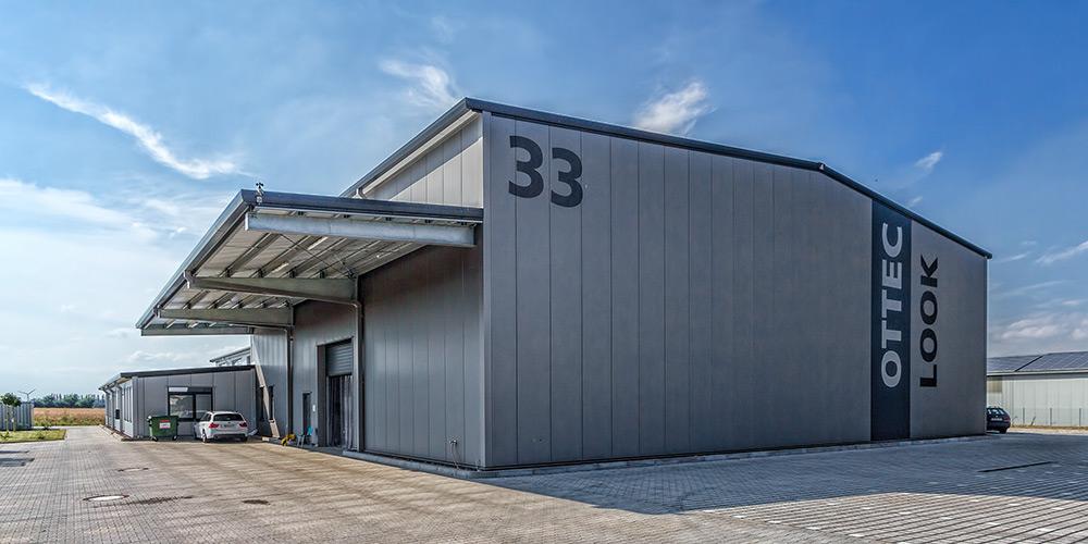 Fotografie Hallenbau   Ottec Technology GmbH Gehrden