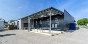 Fotografie Hallenbau | Welger Recycling Engineering GmbH Wolfenbüttel