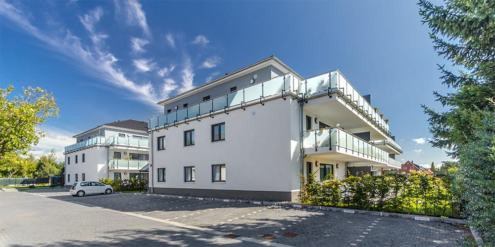 Fotografie Wohnungsbau | Mehrfamilienhäuser Wolfsburg